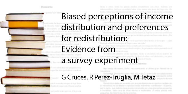 Biased perceptions of income distribution and preferences for redistribution: Evidence from a survey experiment