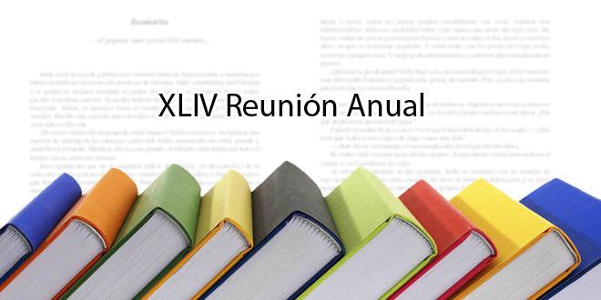 XLIV Reunión Anual
