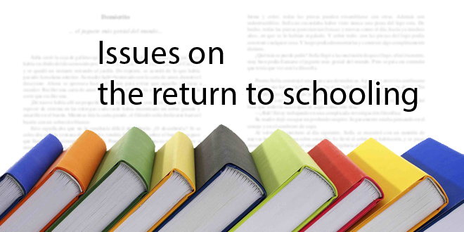 Issues on the return to schooling
