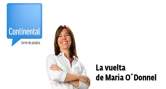 27/02/2014 – La vuelta con Maria O´Donnell
