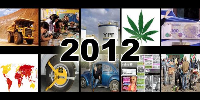 El año 2012 en 10 columnas