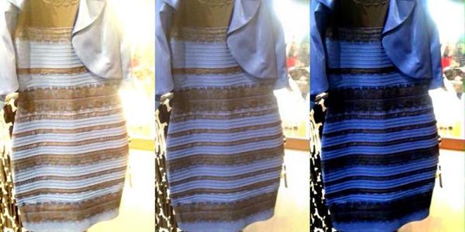"""""""El vestido que cambia de color y la percepción de los fenómenos económicos"""""""