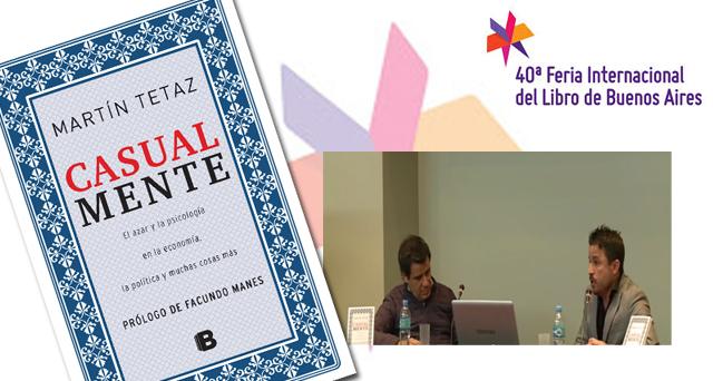 """Presentación de """"Casualmente"""" en la Feria del Libro"""