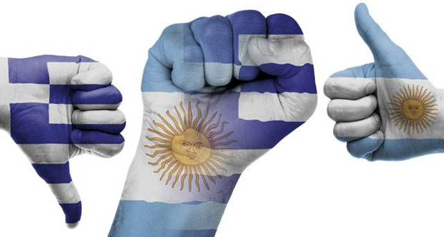 Lecciones de la crisis; semejanzas y diferencias entre Grecia y Argentina