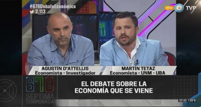 30/11/2015 – 678 Tv Pública – El debate sobre la economía que se viene