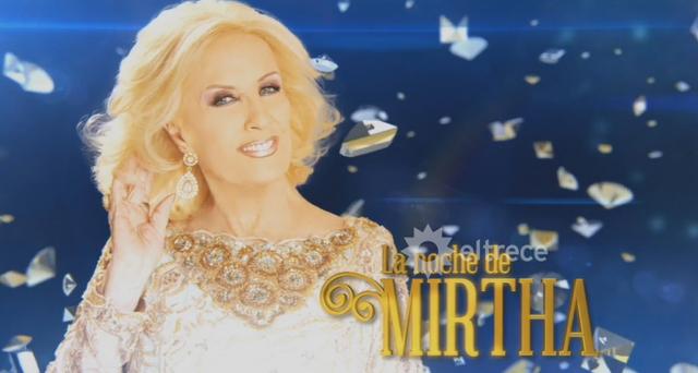 13/08/2016 – La Noche de Mirtha Legrand