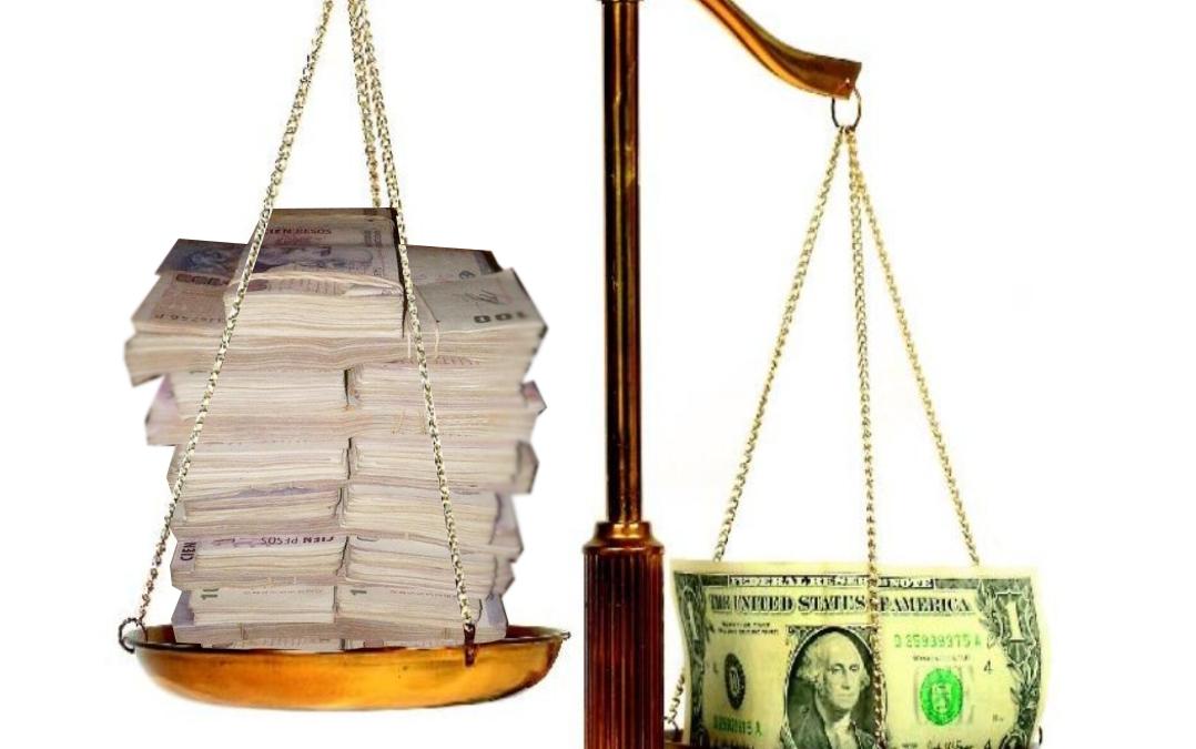 ¿Cual es el precio de equilibrio del dólar?