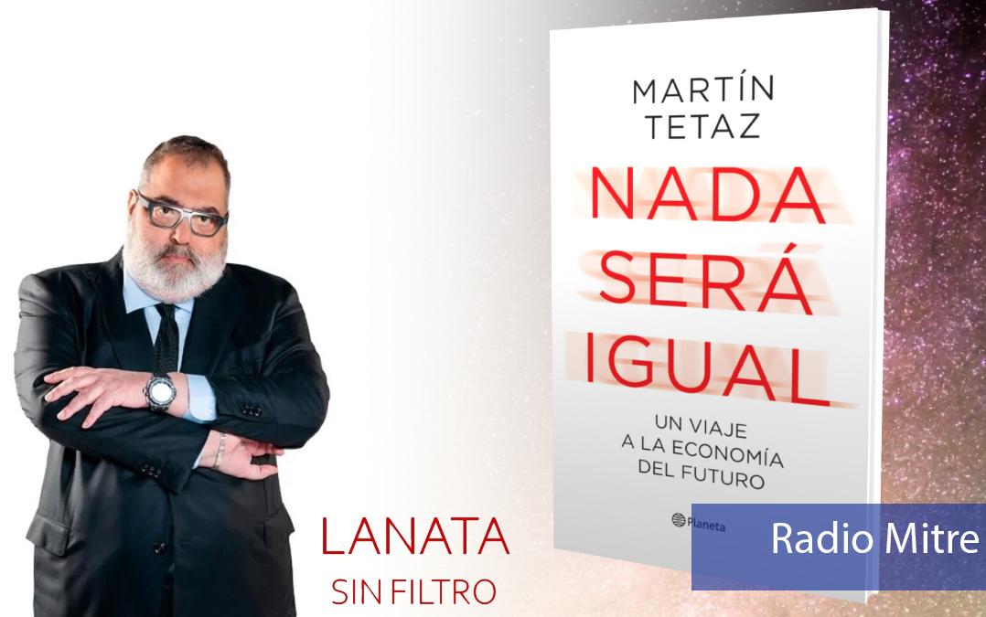 Presentación «Nada será igual» en Lanata Sin Filtro