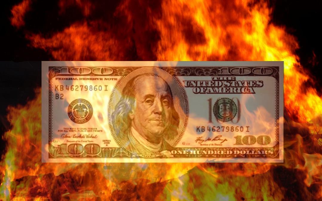 En el purgatorio se calienta el dólar